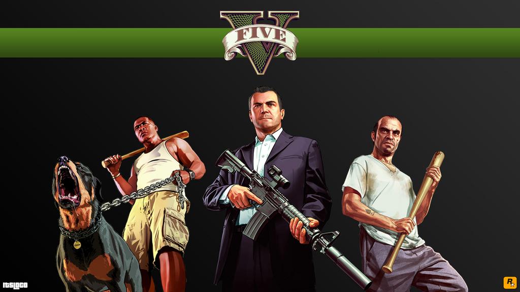 GTA 5 Wallpaper by ItsLoCo on DeviantArt