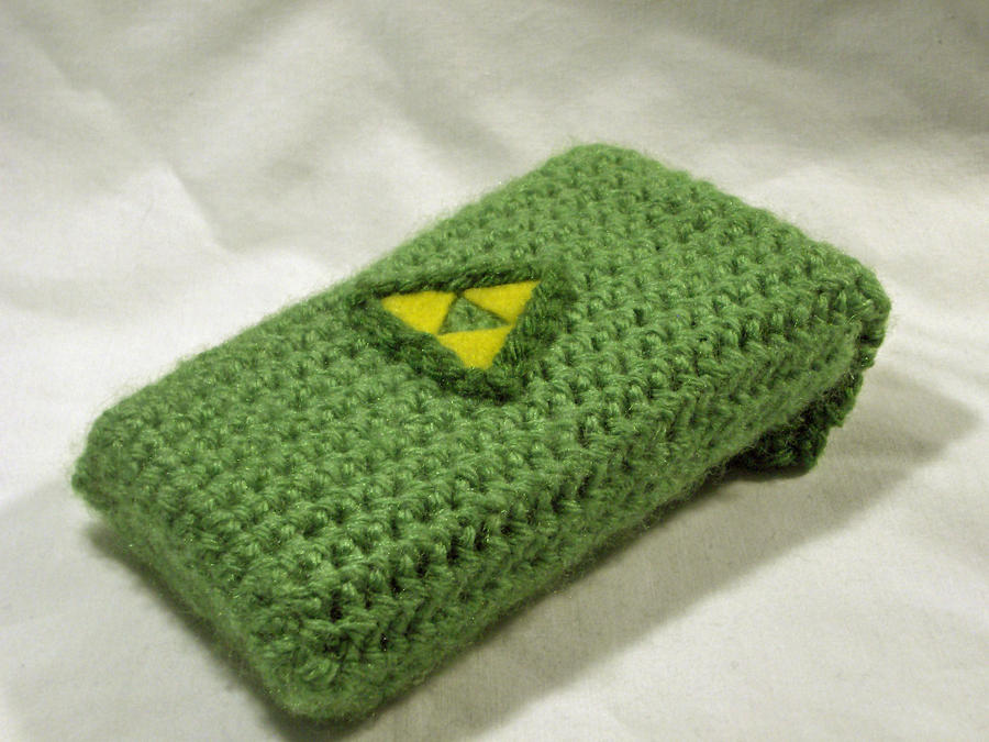 Triforce DS Lite case 2.0 by PerilousBard