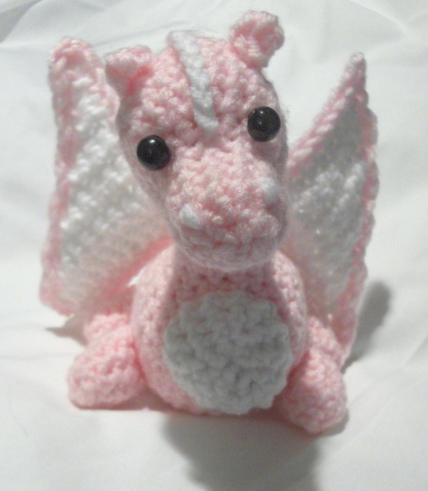 Custom Order Pink Dragon by PerilousBard