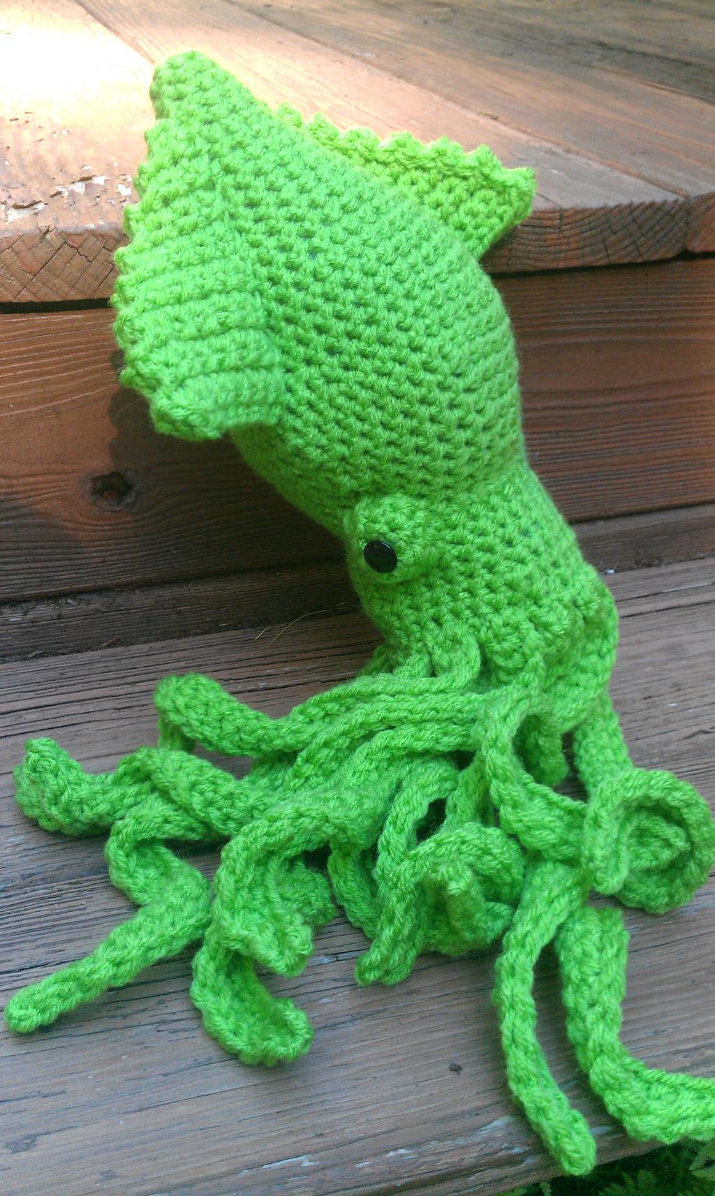 Release the Crochet Kraken 4.0 by PerilousBard