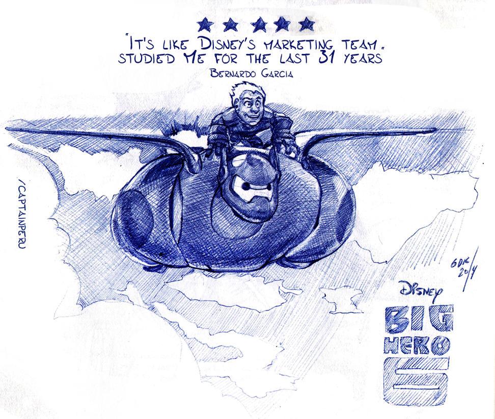 On Big Hero 6 by CaptainPeru