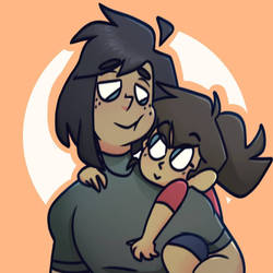Dex and little sister