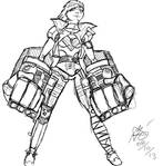 Vi (Sketch) by Lilgoatz