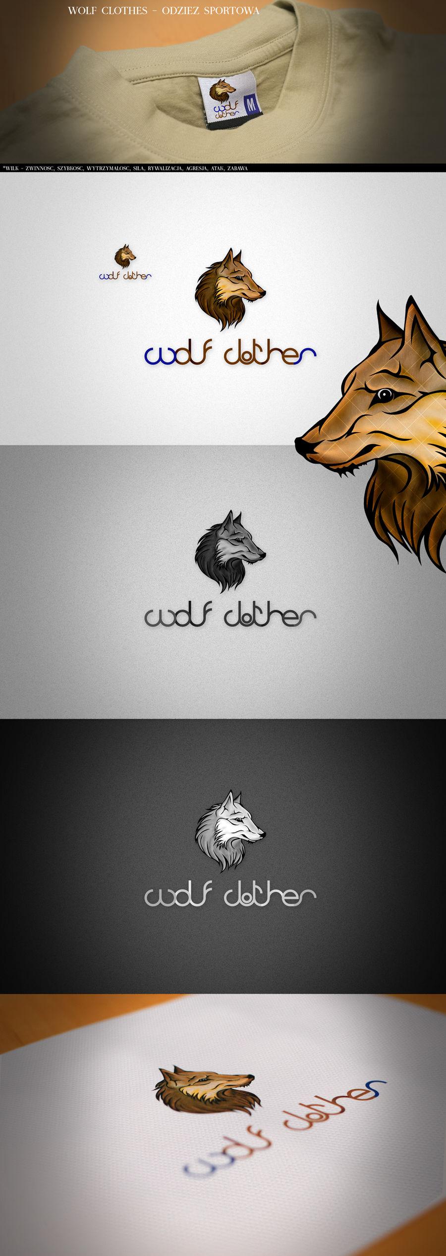 Wolf clothes by mprudlak