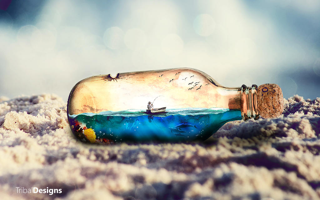 My World in a Bottle by AknotK