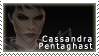 Cassandra Pentagast Stamp by swordoftruthiness