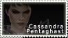 Cassandra Pentagast Stamp by swordoftruthiness