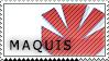 Maquis stamp by shonni-etta