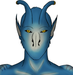 Nidoir (friend's OC) by shonni-etta