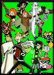 Some Favorite Cartoon Heroes