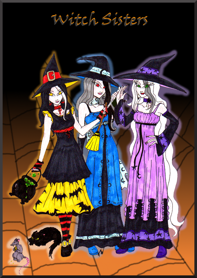 :Witch Sisters: by HumanStick