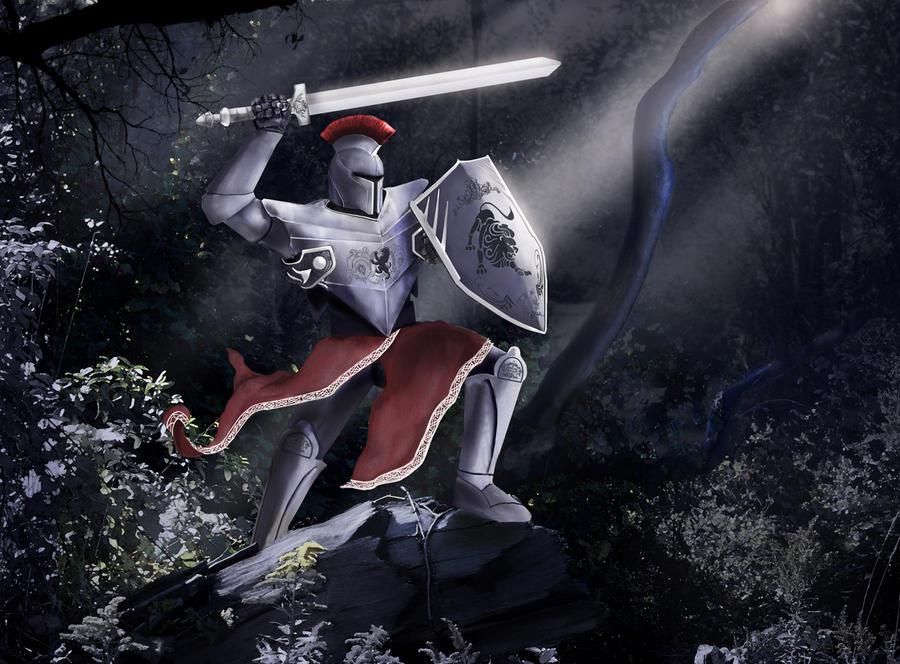 Wild Knight-small by TheArtOfaMadMan