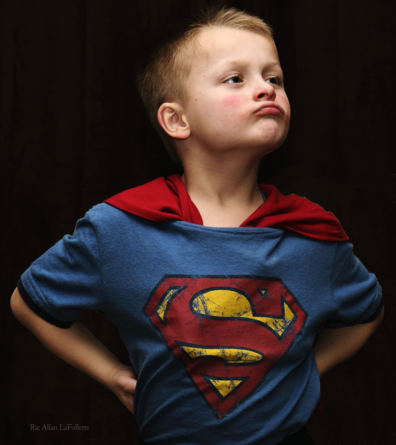 My Super Hero by TheArtOfaMadMan