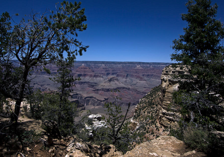 Grand Canyon Framed by TheArtOfaMadMan