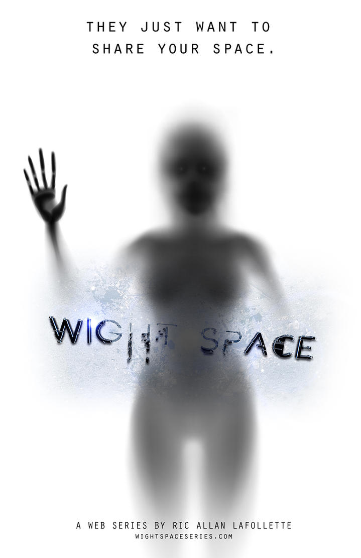 Wight Space Poster by TheArtOfaMadMan