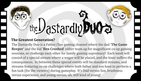 Dastardly-duo-logo by TheArtOfaMadMan