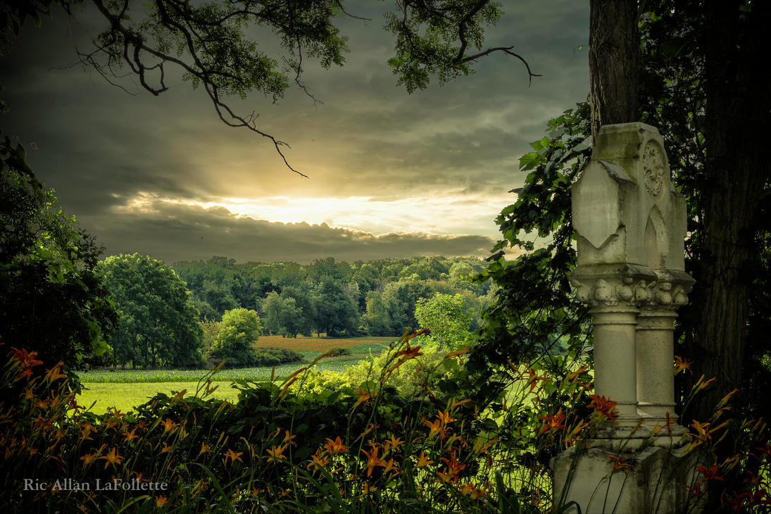 Grave Sky by TheArtOfaMadMan