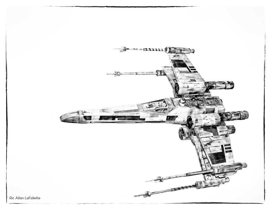 X-Winging it by TheArtOfaMadMan