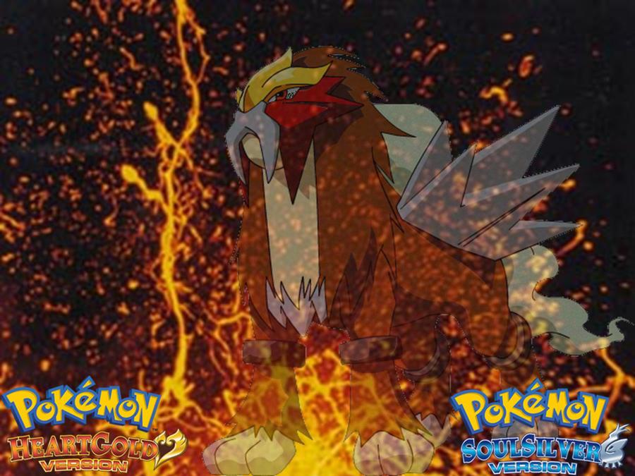Pokemon HGSS Entei Wallpaper by Blazicune on DeviantArt