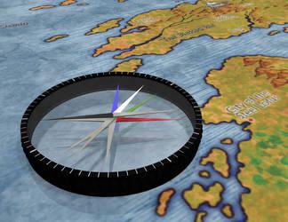 Polar Compass by crop