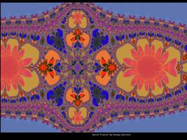 Diadem fractal by pgmatg