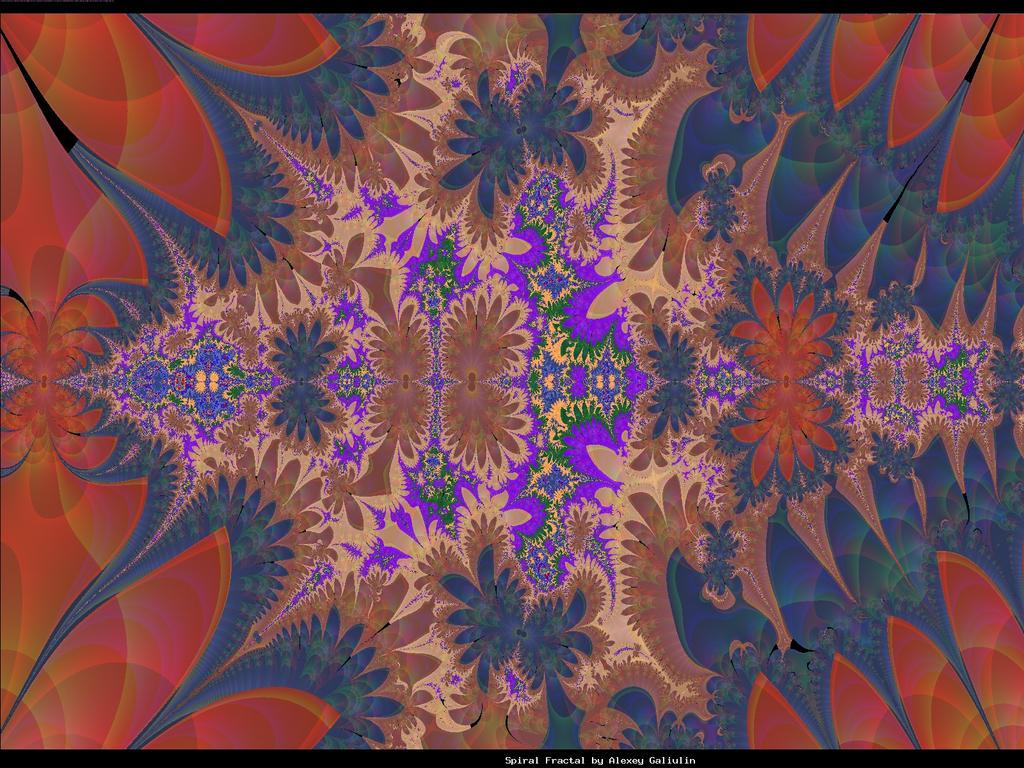 Dark Herbaria motif fractal by pgmatg