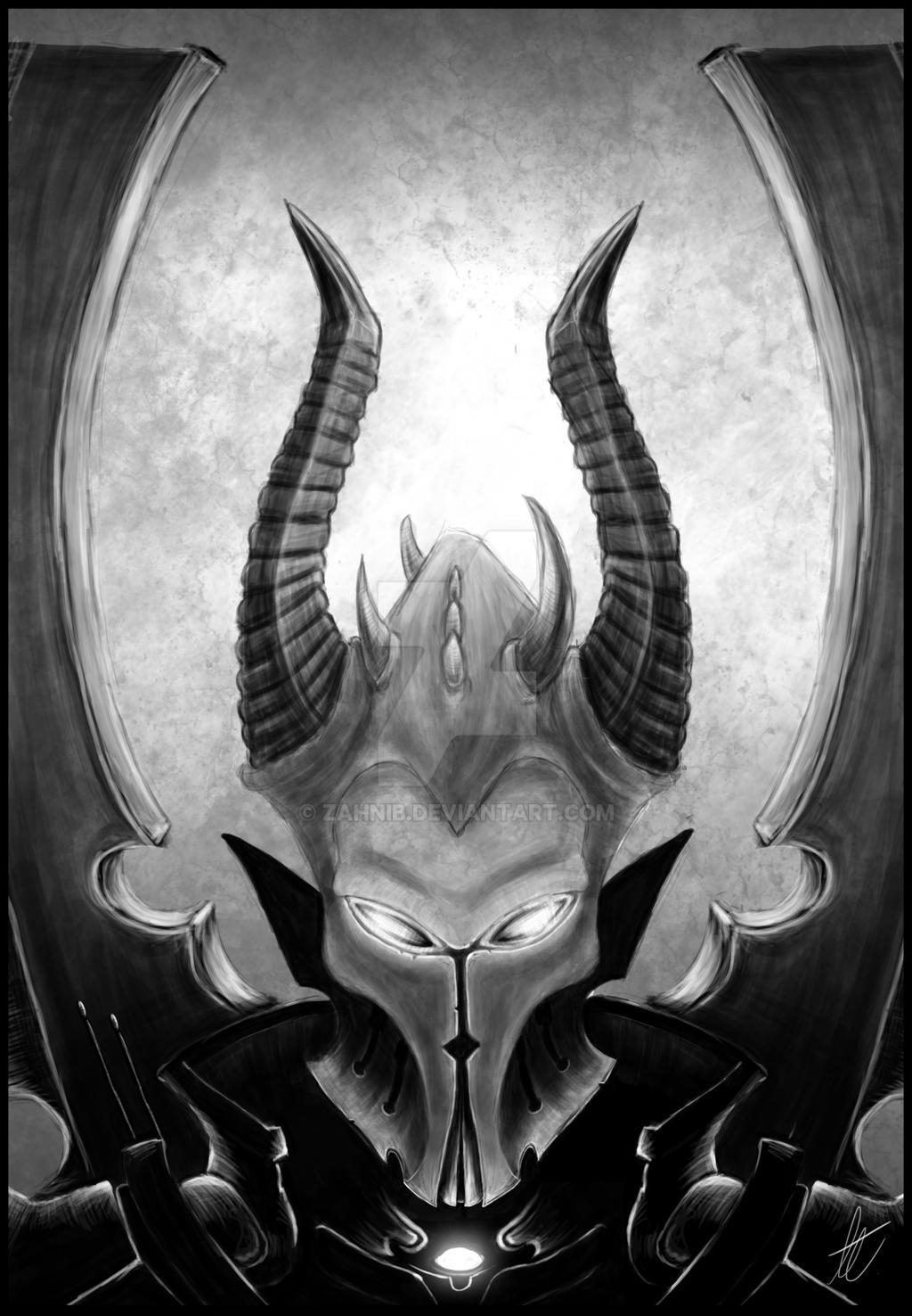 Dark Eldar Incubi by zahnib
