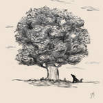 Tree study by Chayemor