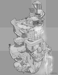 Parkour Varsity Club House by Chayemor