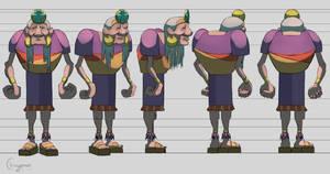 Character turnaround sheet