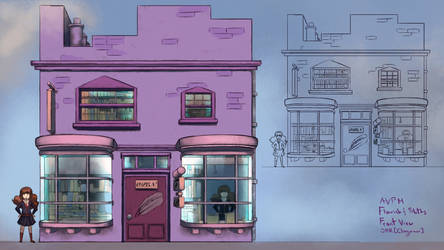 AVPM - Diagon Alley, Floursish and Blotts