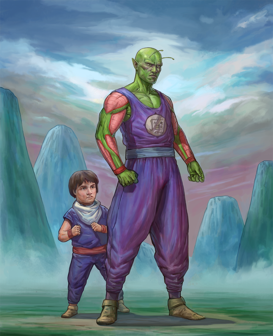 Piccolo And Gohan Wallpaper