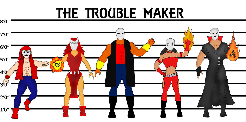 The Trouble Maker by melsr007