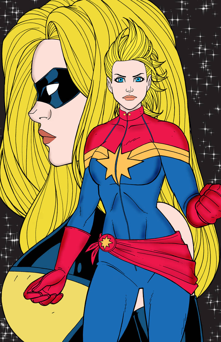 captainmarvel by melsr007