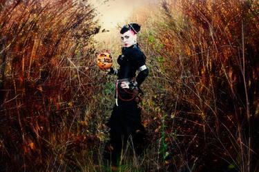 lady in black by Selenittt