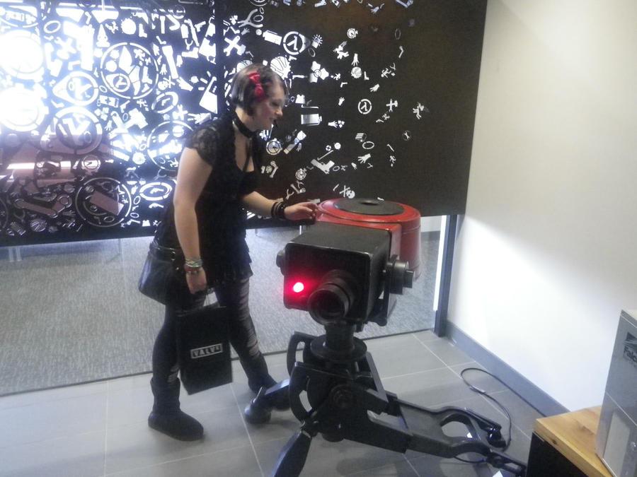 Real-Life Sentry Gun by Sotoro-Bukia