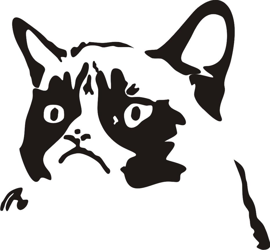 clipart grumpy cat - photo #27