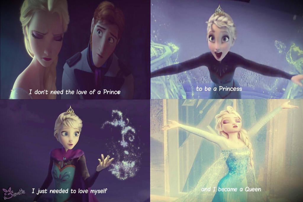 Elsa the Snow Queen by Buniette