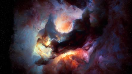 INTERSTELLAR clouds II by SalmonickAtelier