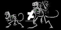 daster skeleton ///BONES! by DasterEndermanalbino