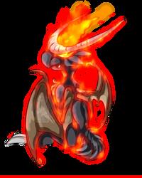 Impyre - The demon pokemon by DasterCreations