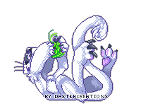 Pixel Art The Kitty Daster by DasterCreations