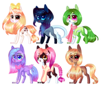 [CLOSED] Pony Adopts auction: Points-and-PP