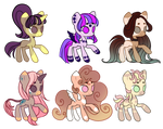 [CLOSED] Pony Adopts auction: Points Only - SB 30p