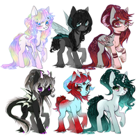 [CLOSED] Galaxy Pony Adopts auction: Points or PP