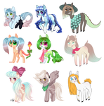 [CLOSED] Pony Adopts auction: Points or PP