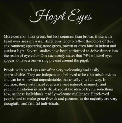 Hazel eyes  by Lord-Lily