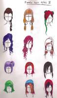 female hairstyles 2 by YuhiUmi