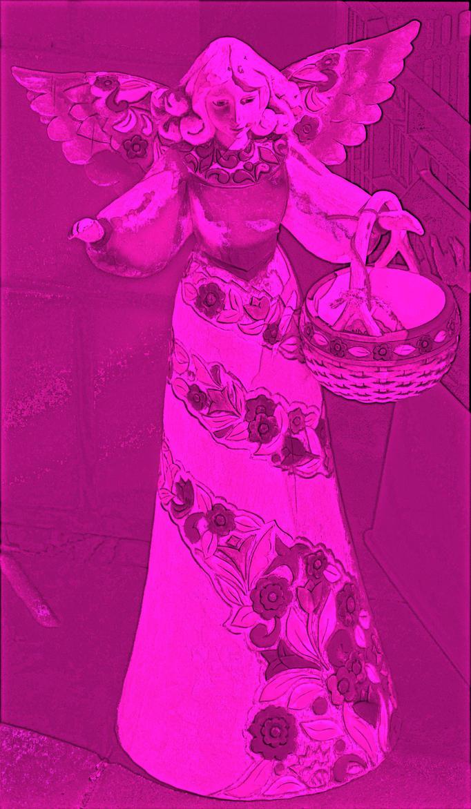 Pink Angel... by vfrrich