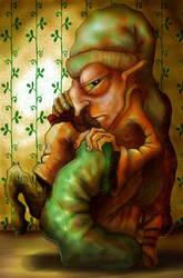 sock thief by Gnomosapien